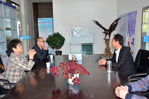 热烈欢迎青海省民营企业协会杨菲菲会长等领导前来三晶集团及子公司调研指导工作